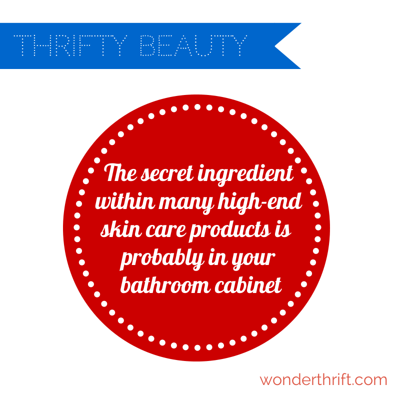 secret ingredient- thrifty beauty