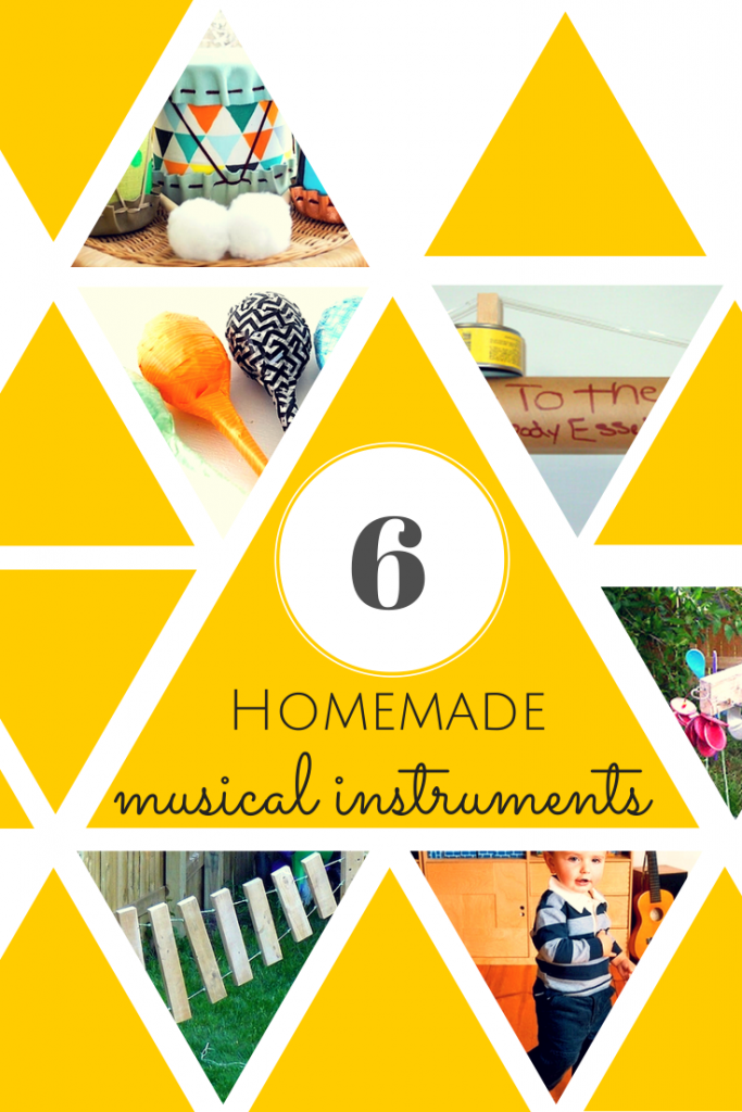 six amazing and easy  homemade musical instruments