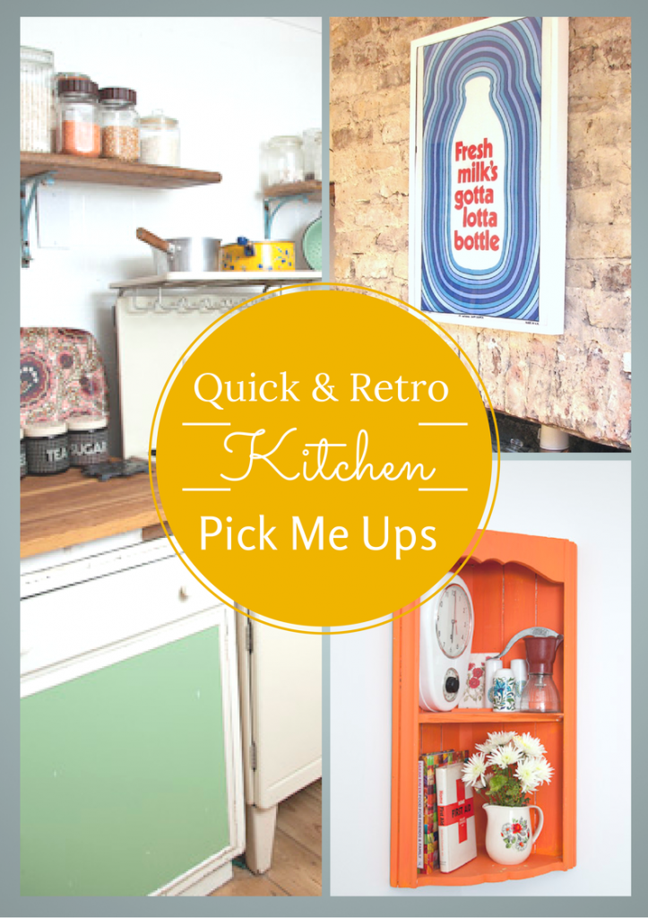 frugal and vintage kitchen pick me ups