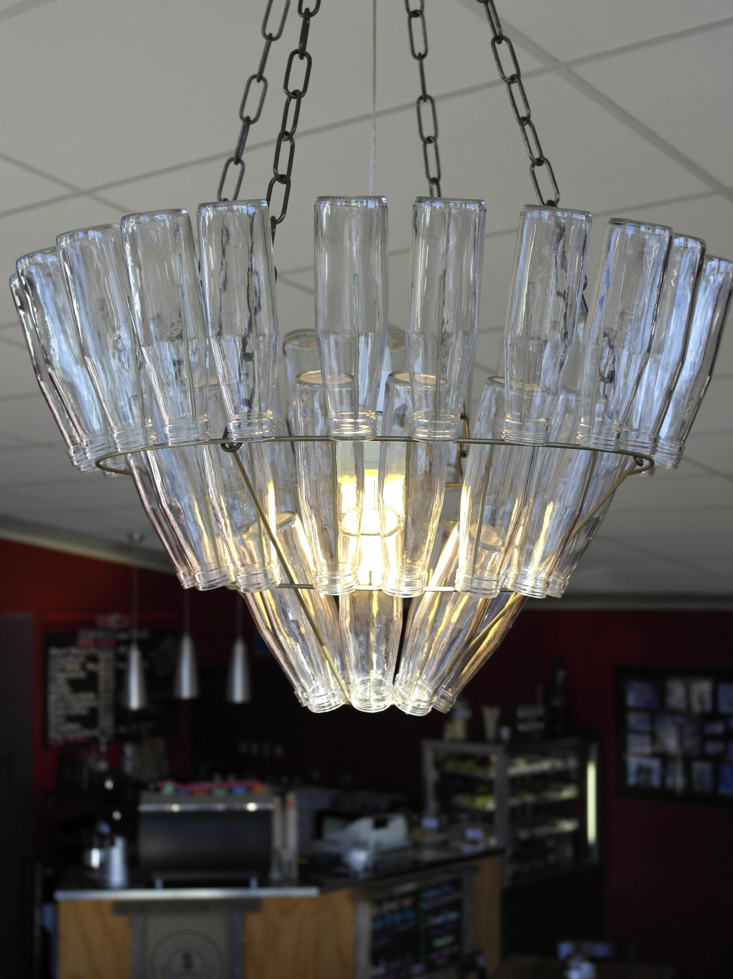 media glass australia jar recycled elm west chandelier