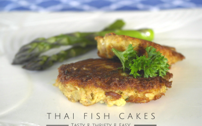 Thrifty easy thai fish cakes from leftover mash potato