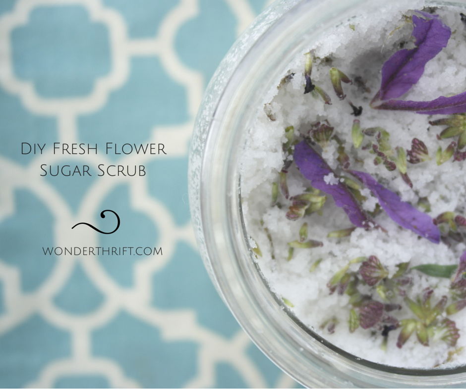 Homemade Thrifty Gifts: Lavender Sugar Scrub