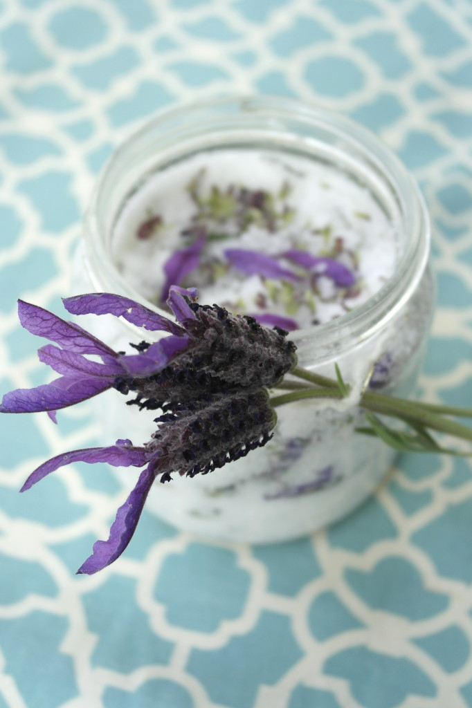 DIY Fresh Flower Sugar Scrub